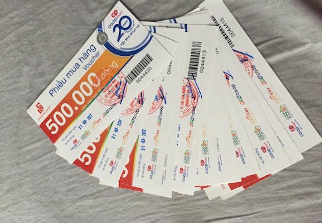 Cần thu mua voucher Coopmart tận nơi và giá cao tại Hà Nội